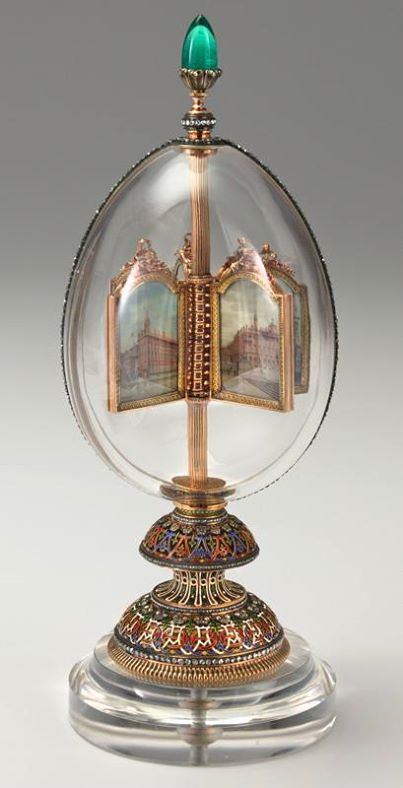Revolving Miniatures Faberge Egg – The Gift of Love