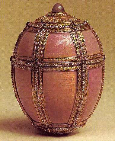 Danish Palaces Faberge Egg – The Pink Wonder of the World